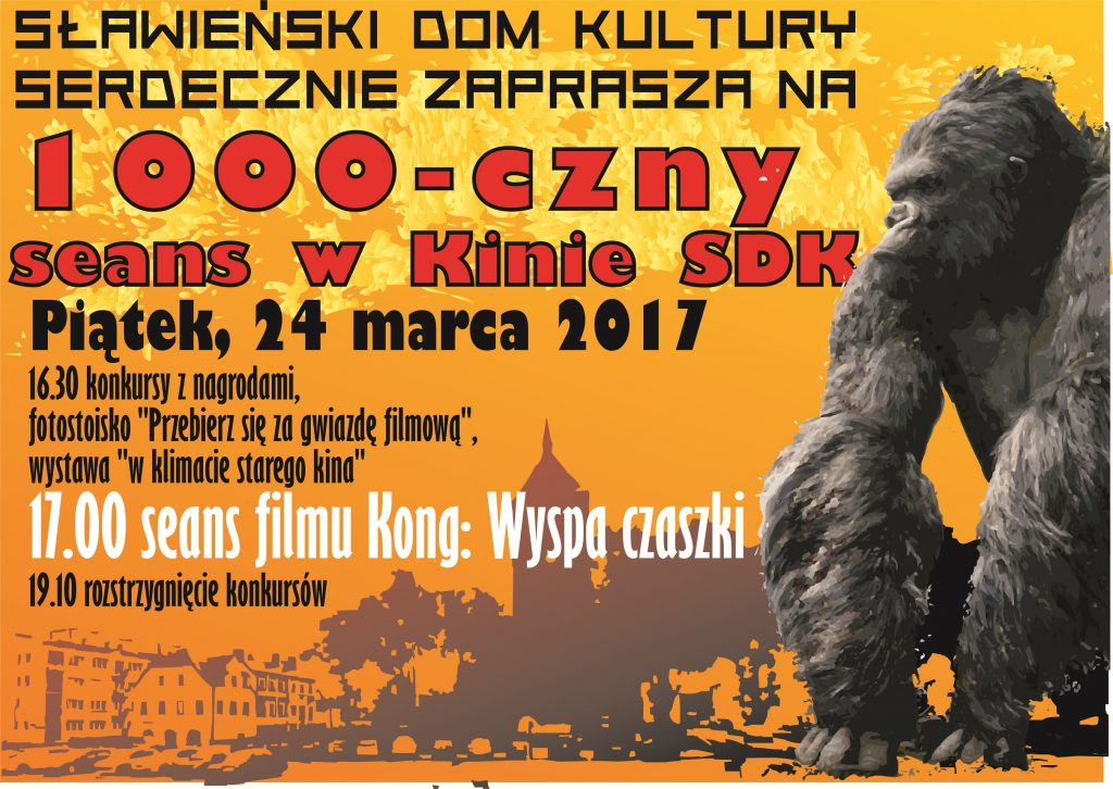 KONG 1000 czny seans2700