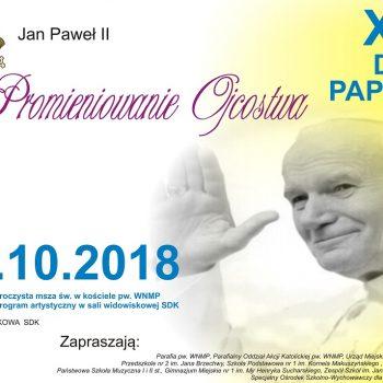Promieniowanie Ojcostwa XVIII Dzień papieski