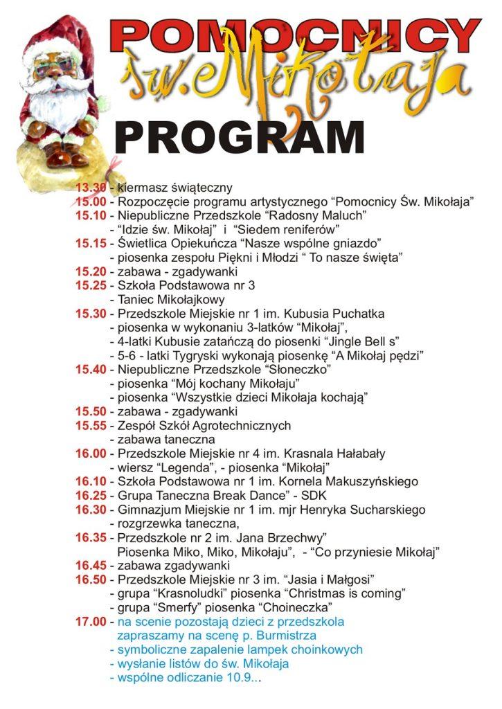 program Mikołajkowy2018