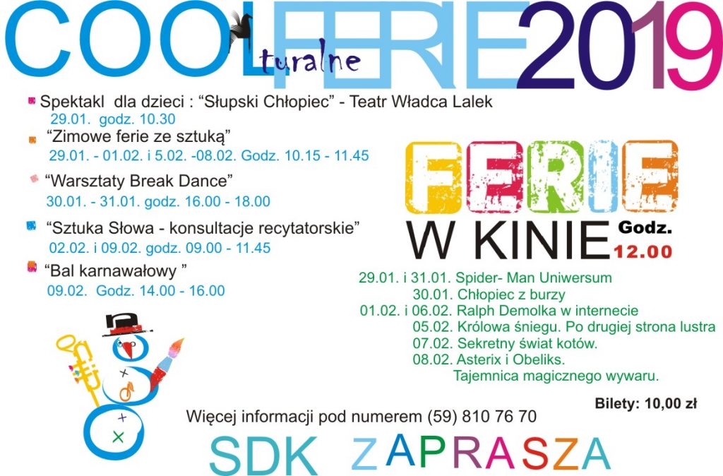 Cool turalne ferie 2019