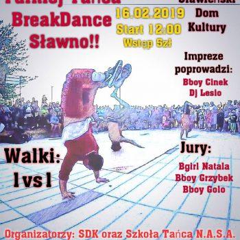 Break dance 2019 plaktat