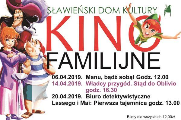 kino familijne kwiecień 2019