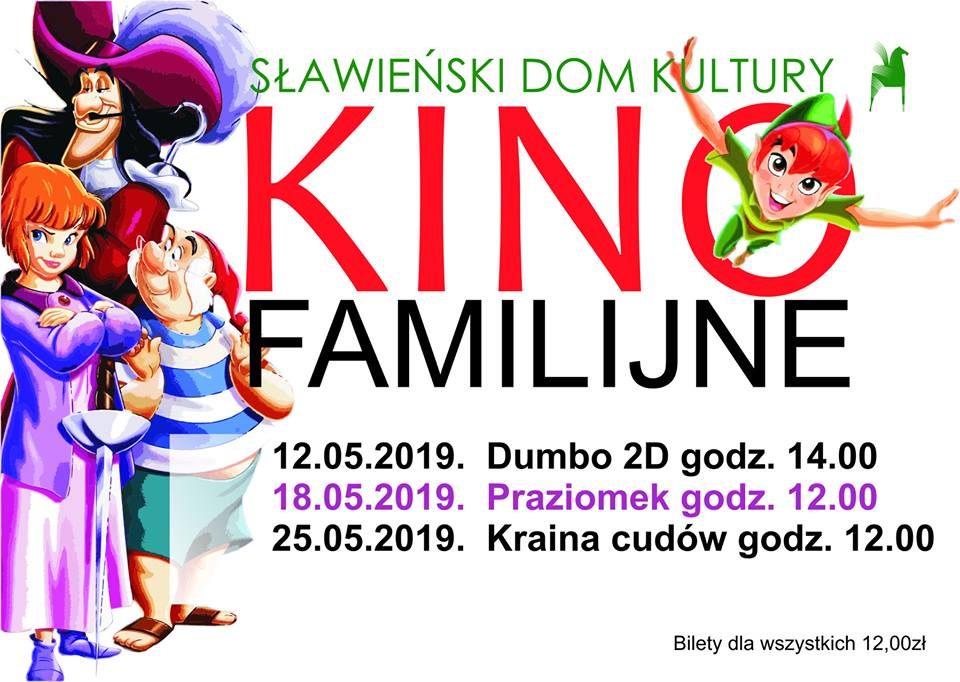 Kino familijne maj 2019