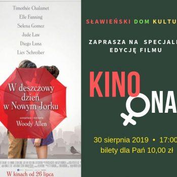 Kino ona sierpien 2019