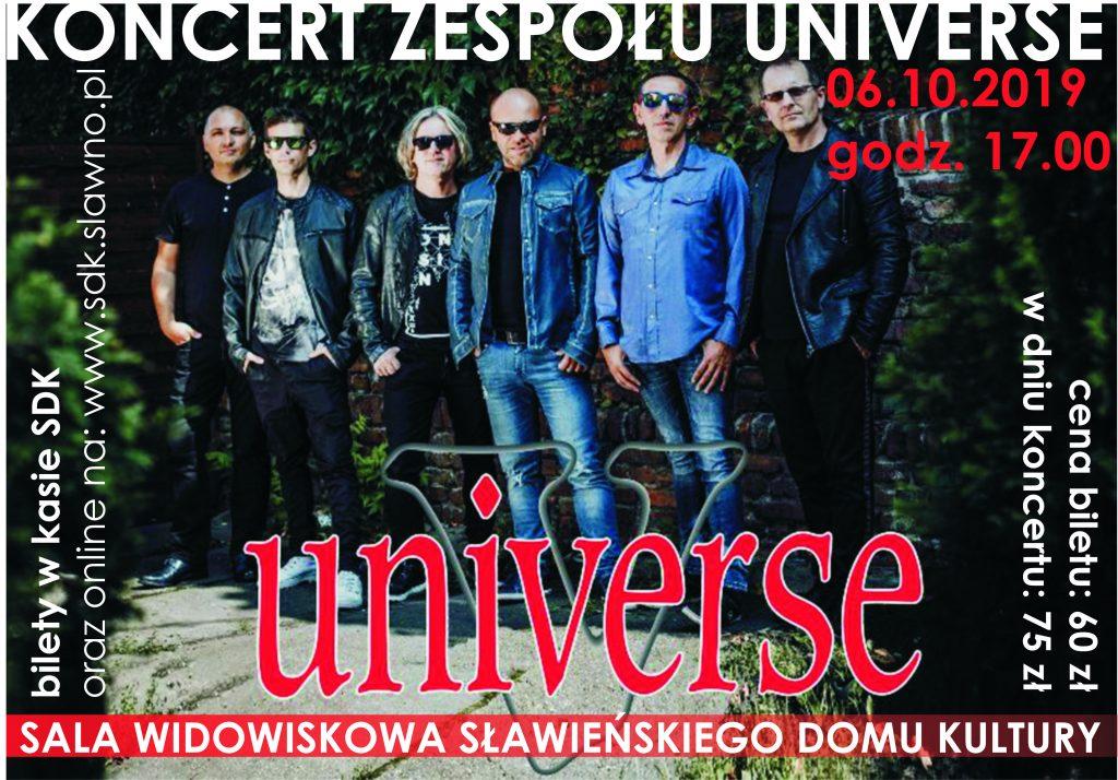 plakat UNIVERSE