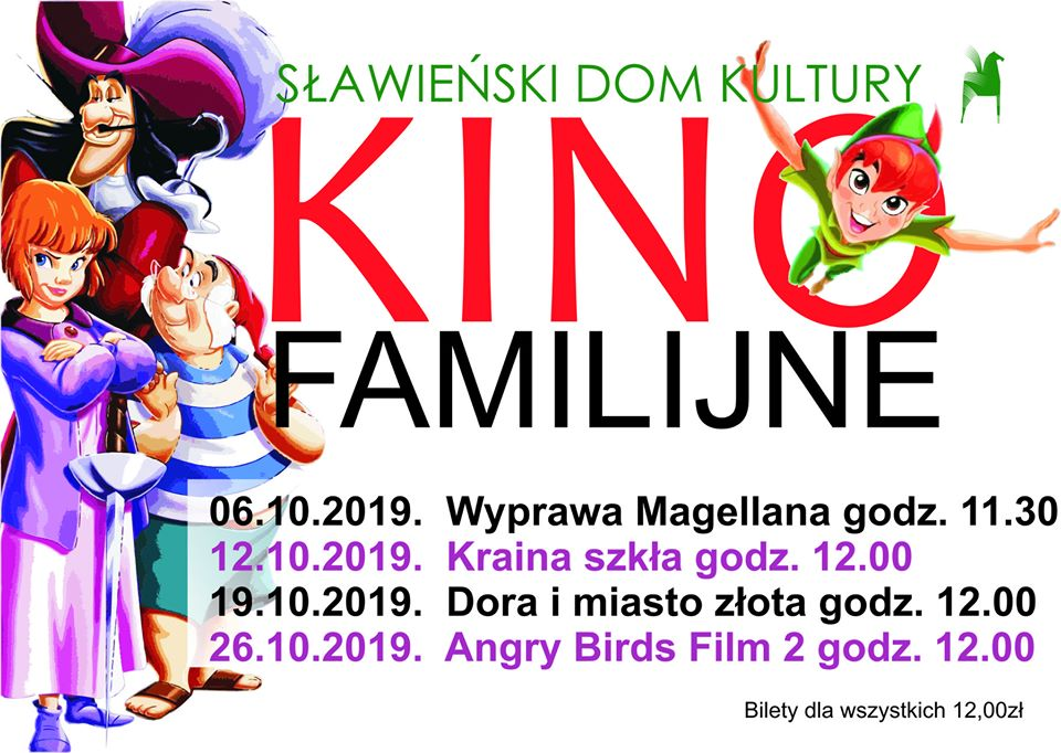 Kino Familijne październik 2019