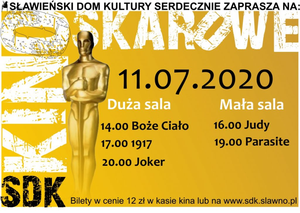 Kino Oskarowe 11.07.2020