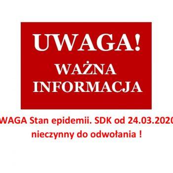 UWAGA Stan epidemii