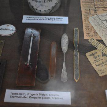 Termometr, drogeria Sielatt - Sławno