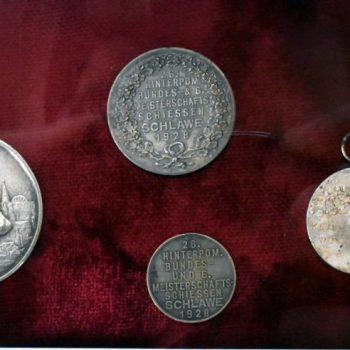 Medal z 26 Pomorskich Zawodów Strzeleckich 1928 rok.