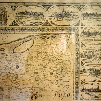 Mapa Pomorza.
