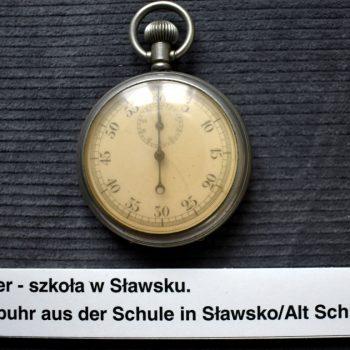 Stoper ze szkoły w Sławsku.