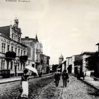 Ulica Koszalińska 1910