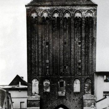 Brama Słupska od strony polnej