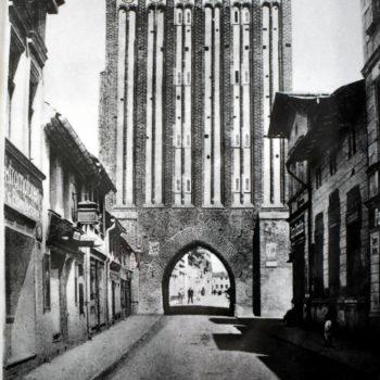 Brama Koszalińska od strony miejskiej.