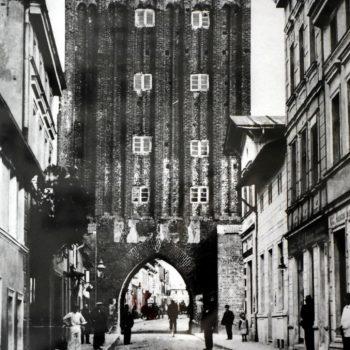 Brama Koszalińska od strony polnej.
