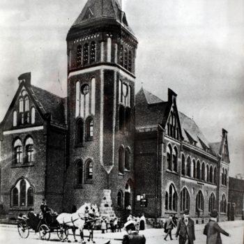 Poczta Sławieńska  ( otwarta w listopadzie 1905 roku)