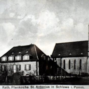 Kościół p.w.Św. Antoniego z Padwy w budowie 1926-28.