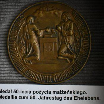 Medal 50-lecia pożycia malżeńskiego