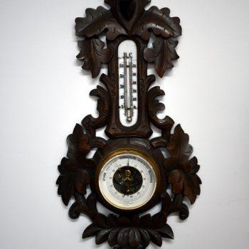 Barometr z logo zegarmistrza F.Groth