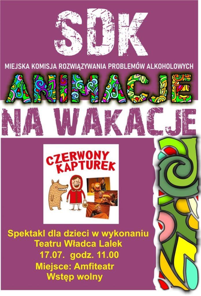 """Spektakl dla dzieci """"Czerwony Kapturek"""" - Teatr Władca Lalek"""