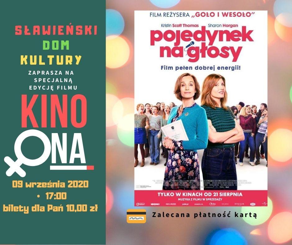 """KinoOna """"Pojedynek Na głosy"""" 09.09.2020"""